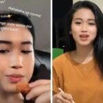 Viral! Mata Remaja Selalu Berkedip Saat Makan